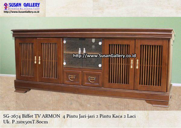 Buffet TV Jati Armon