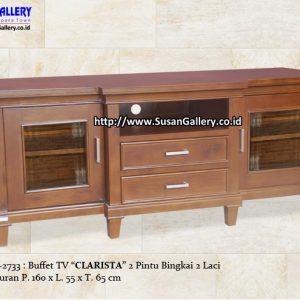 Buffet TV Jati Clarista